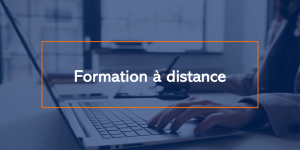 Formation a distance